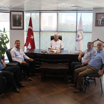 Türkiye Kahveciler Federasyon Başkan Vekilinden Odamıza Ziyaret