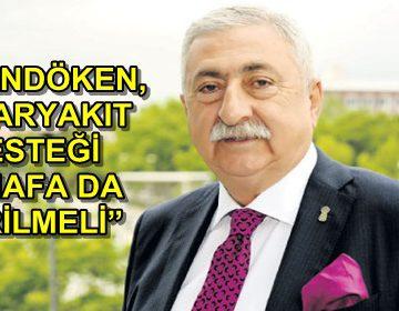 PALANDÖKEN, 'AKARYAKIT DESTEĞİ ESNAFA DA VERİLMELİ'